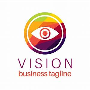 Eye vision logo in colorful style Vector | Free Download