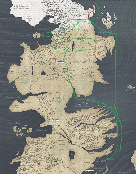 game  thrones season  white crawlers map shows