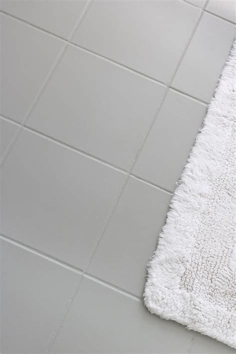 ideas for bathroom floors for small bathrooms how i painted our bathroom 39 s ceramic tile floors a simple