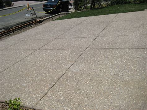 exposed aggregate concrete driveways buchheit construction