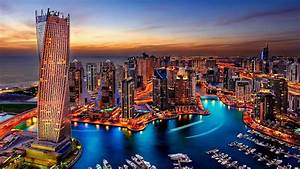 Dubai Marina Sunset HD Wallpaper Wallpaper Studio 10