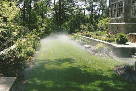 landscaping sprinklers cincinnati lawn sprinkler systems sprinkler installation tepe landscaping