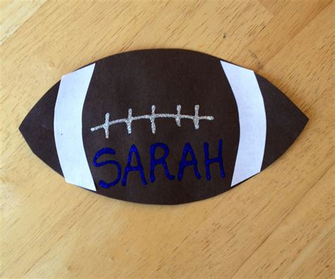 s football craft kidscrafts preschool activities 334 | 16aa956b6c4cc20b94b3a48e017eacdc