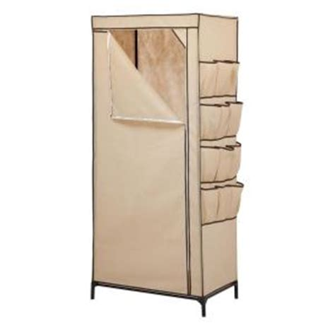 honey can do 27 in storage closet with shoe organizer wrd