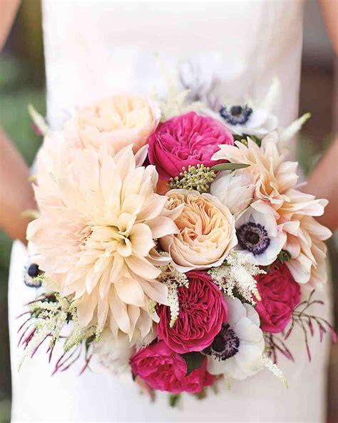 10 Stunning Dahlia Wedding Bouquets Martha Stewart Weddings