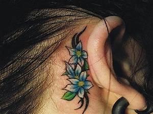 Chic Foot Tribal Gecko Lizard Tattoo For Women ...