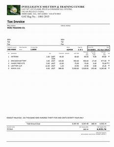 download gst invoice template excel malaysia rabitahnet With gst invoice format in excel