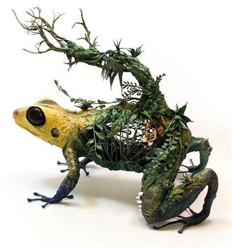 magical animal sculptures  ellen jewett top