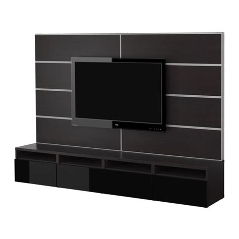ikea wall mount tv stand tv storage combination wall unit