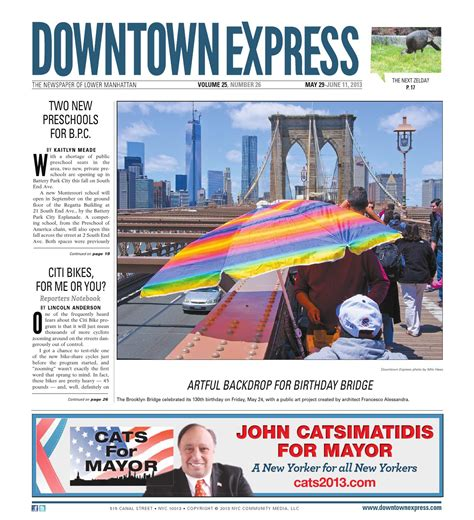 may 30 2013 downtown express by schneps media issuu 129 | page 1