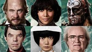 Images of the various Cloud Atlas characters