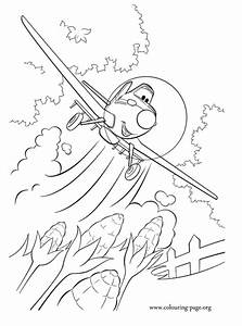 Planes Dusty Crophopper Coloring Page