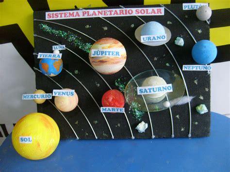 material reciclable sistema planetario el sistema planetario maqueta caja de zapatos