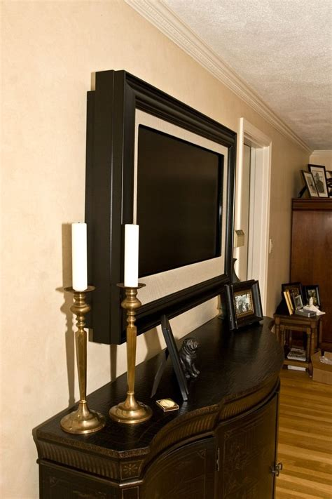 mount tv  wall ideas cabinet   mounted