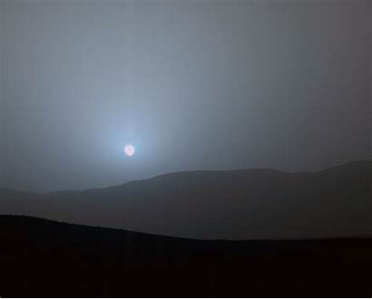 Mars Earth Sunsets Sunset Different Curiosity Hires