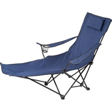 Folding Chairs With Footrest by Be Active Folding Lounge Chair With Integral Footrest