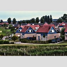 Das Village Scaldia Gelände Lustige Bunte Kleine Häuschen