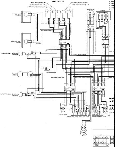 CB1100F Wiring Diagram - 1983 Honda CB1100 Super Sport