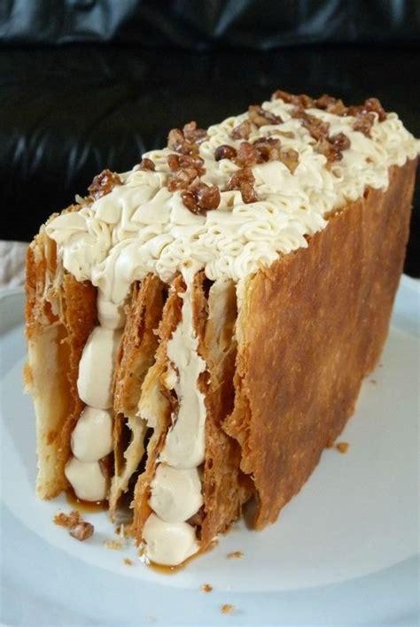 le dessert de ce dimanche mille feuille au sirop d 233 rable d apr 232 s une recette de ch michalak