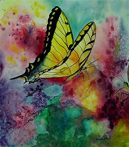 Butterfly Original Watercolor Painting | by Dee Carpenter