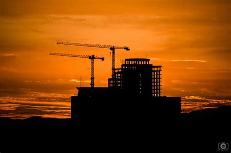 sunrise  construction background high quality