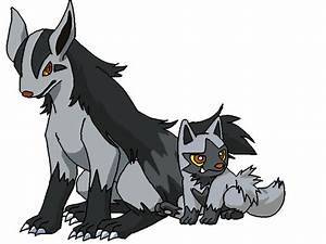 Mightyena and Poochyena by Hetalia-Spain on DeviantArt