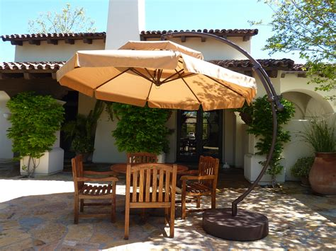 10ft cantilever umbrella straw olefin patio umbrella