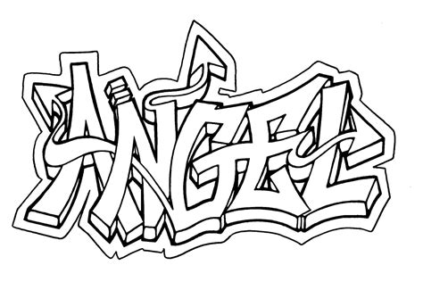 cool graffiti coloring pages coloring home