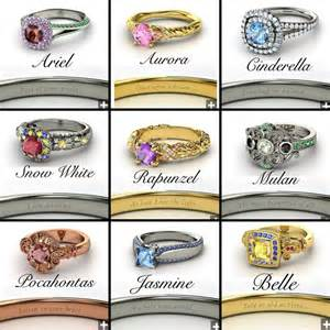 disney wedding ring disney princess engagement rings a trace of