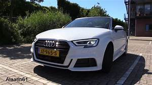 Audi Cabriolet A3 : 2017 audi a3 cabriolet full walkaround video has drone footage autoevolution ~ Maxctalentgroup.com Avis de Voitures