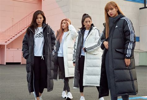 Blackpink For Adidas Winter Collection