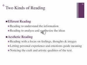 Efferent Reading Instruction Manual