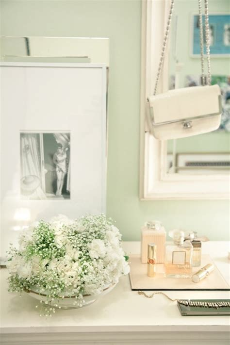 mint green walls transitional bedroom rue magazine