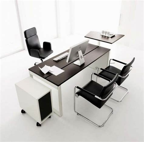 contemporary bureau desk black office desk furniture interiordecodir com