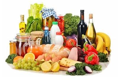 Grocery Composition Variety Av Vielzahl Zusammensetzung Composizione