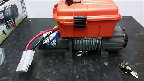 Badland Winch Wiring Setup harbor freight winch project wiring mounting and hook up