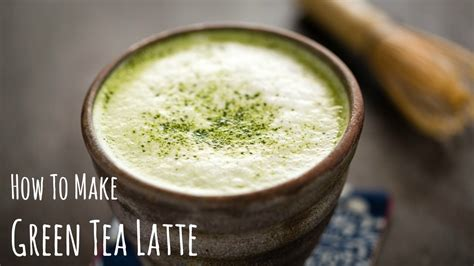 How To Make Matcha Latte (green Tea Recipe) 抹茶ラテの作り方(レシピ