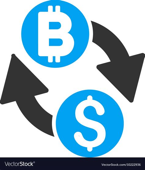 Over 20+ bitcoin vector png images are for totally free download on pngtree.com. Dollar Bitcoin Exchange Flat Icon Royalty Free Vector Image