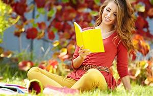 Reading girl happy awesome