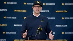 Live updates: Jim Harbaugh Monday press conference for ...