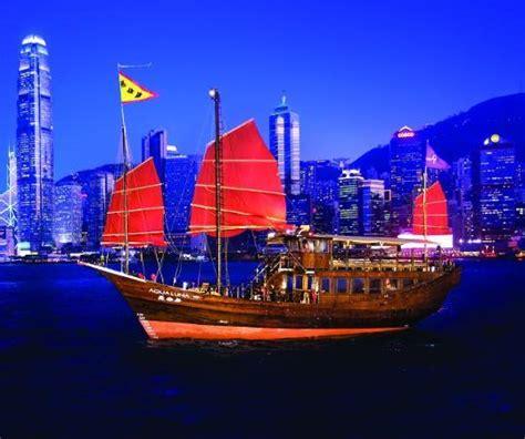 Hong Kong Junk Boat Dinner Cruise by Aqua Hong Kong China Hours Address Boat Tour