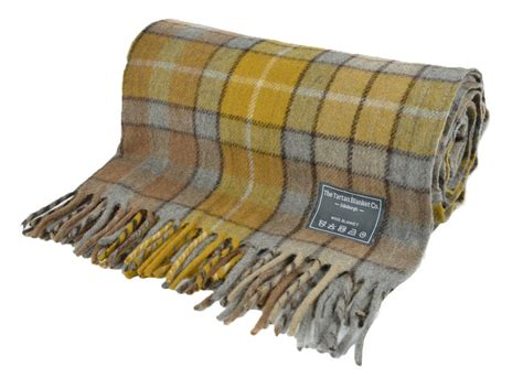 Classic Wool Blanket In Natural Buchanan Tartan By The Tartan Blanket Co. Double Bed Fleece Blankets Sensory Weighted How To Make Pooh Bear Baby Blanket Women S Indian Coat Sleeping Bags With Cuddl Duds King Size Prince Paris And 2016 Knitted Patterns Uk