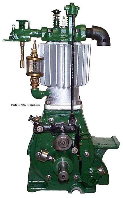 fuller johnson hit   pump jack engine engines