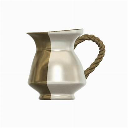 Vase Tea Flowers Cream Pot Coffee Vessel
