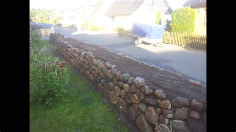 friesenwall trockenmauer bauen entstehung eines