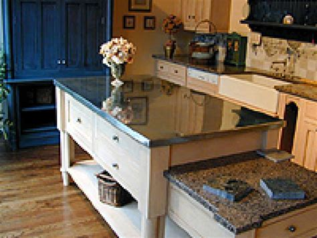 Metallic Countertop by Metal Countertops Copper Zinc And Stainless Steel Hgtv