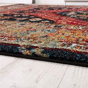 Teppich Orientalisch Modern : designer teppich orientalisch schwarz rot design teppiche ~ Sanjose-hotels-ca.com Haus und Dekorationen