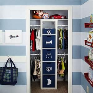 Rangement Pour Chambre : astuce rangement placard chambre ~ Premium-room.com Idées de Décoration