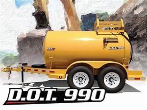 D O T  990 Diesel Fuel Trailer