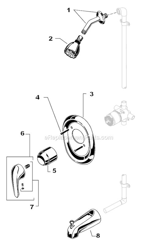 american standard  parts list  diagram ereplacementpartscom